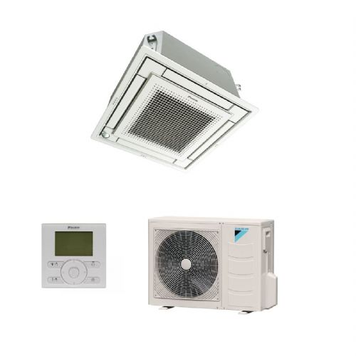 Daikin Air Conditioning FFQ50C Fully Flat Cassette (5Kw/17000Btu) 600x600 Heat Pump Inverter A 240V~50Hz
